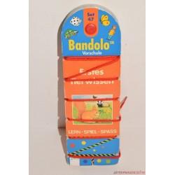 Bandolo készségfejlesztő fonalas párosító játék Set 47