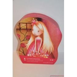Gyönyörű Flower Princess puzzle kirakó játék