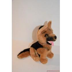 Vintage Rex felügyelő plüss németjuhász kutya