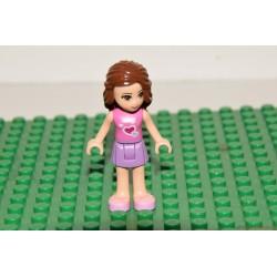 Lego Friends barna hajú lány