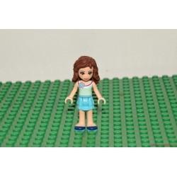 Lego Friends szeplős barna hajú lány