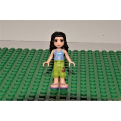 Lego Friends fekete hajú szeplős lány