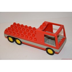 Lego Duplo piros platós teherautó