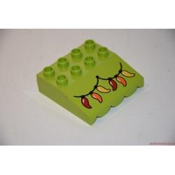 Lego Duplo zöld tető elem