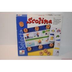 Selecta Scolina gondolkodós társasjáték