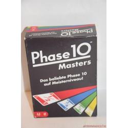 Phase 10 Masters kártya társasjáték