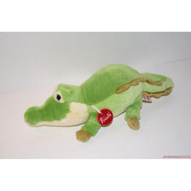 TRUDI gyönyörű plüss krokodil
