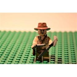 Extrém ritkaság! LEGO Indiana Jones minifigura