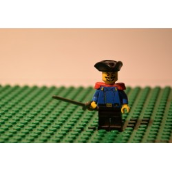 LEGO U.S. katona kapitány minifigura