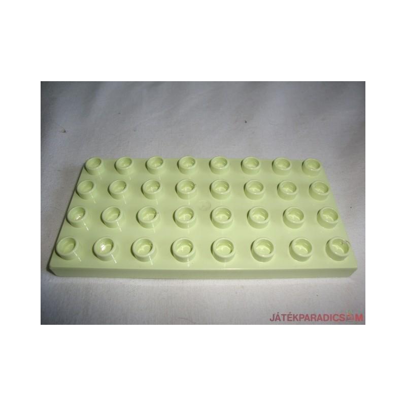Lego Duplo almazöld színű alaplap