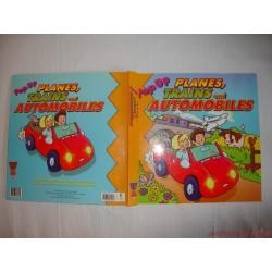 Repülők, vonatok és autók könyv