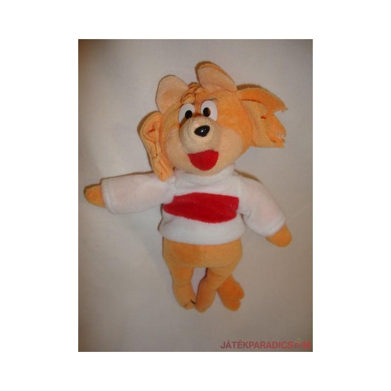 Vörös róka fehér pulcsiban plüss figura Ferrero