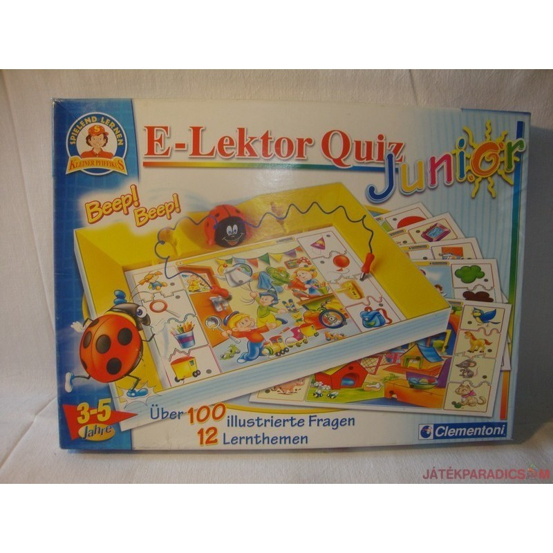 Elektor Quiz Junior párosító játék