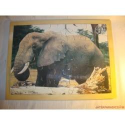 Fa puzzle, Elefánt