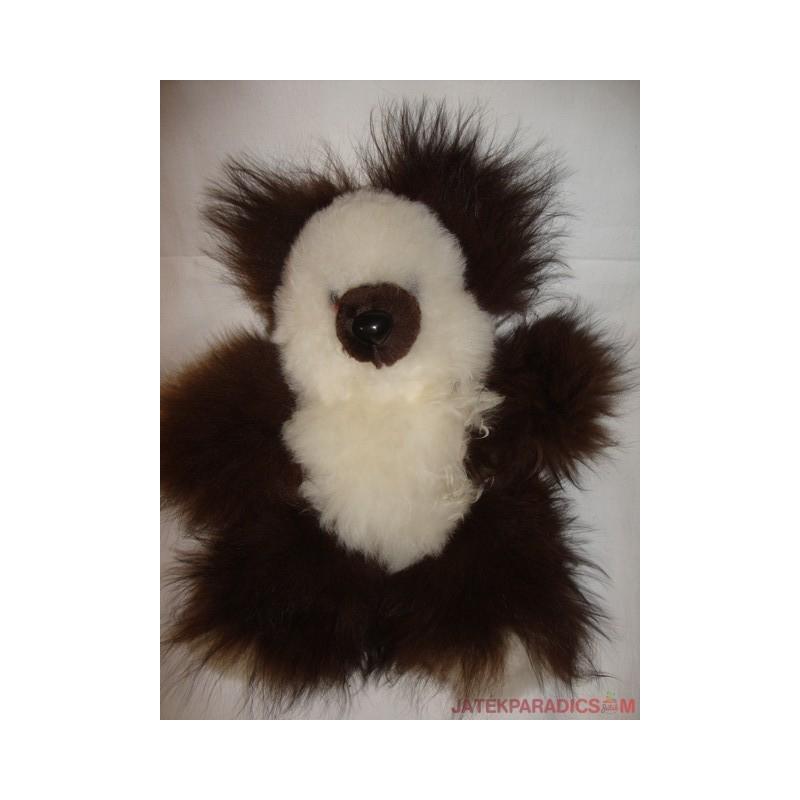 Gyapjú extra puha Panda plüss figura
