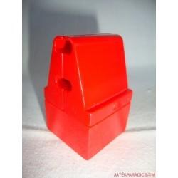 Lego Duplo piros csőtartó elem
