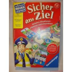 Sicher ans Ziel Biztonságosan a célba társasjáték