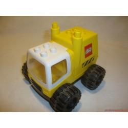 Lego Duplo piros traktor munkagép