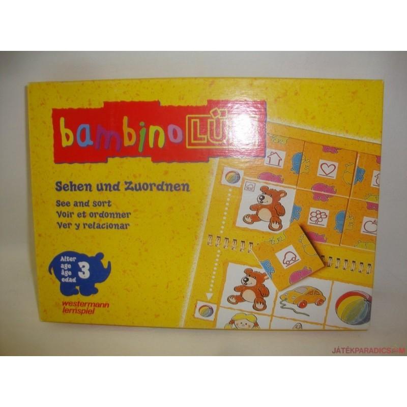 Bambino LÜK készségfejlesztő játék