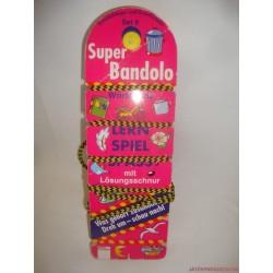 Super Bandolo Közlekedés fűzős készségfejlesztő párosító játék Set 5