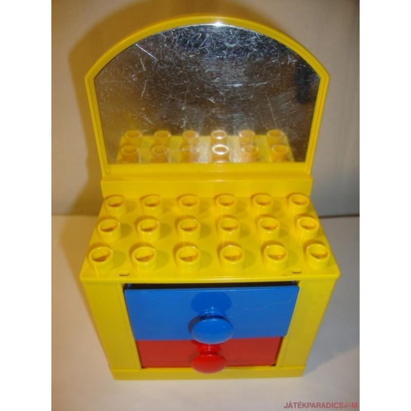 Lego Duplo Dolls sárga komód