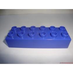 Lego Duplo hosszúkás kék elem