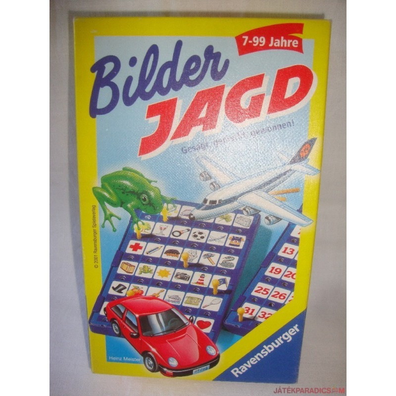 Bilder Jagd Képkereső társasjáték