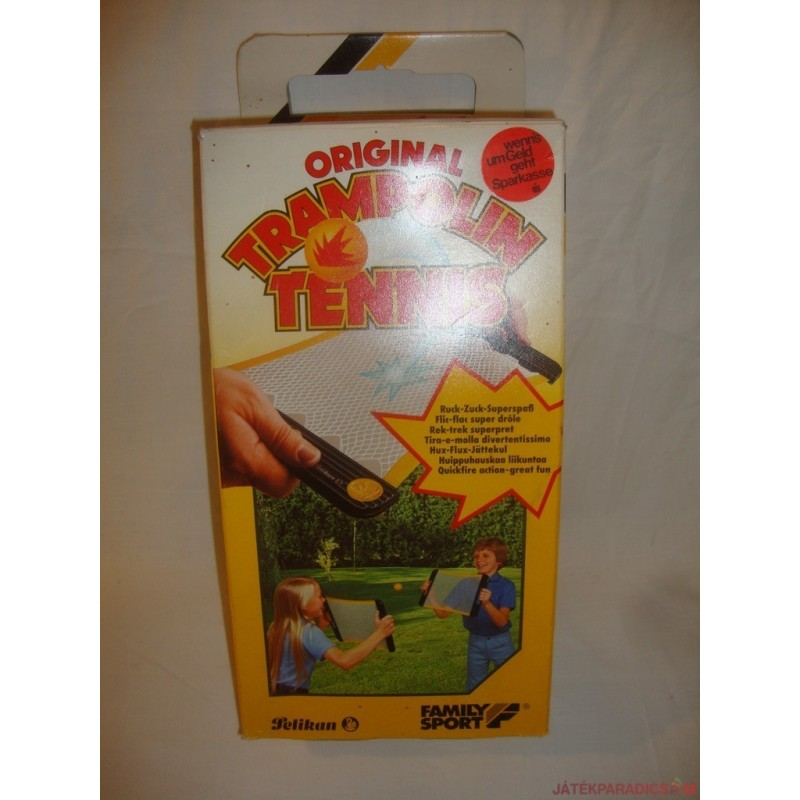 Original Trambulin Tennis kerti játék
