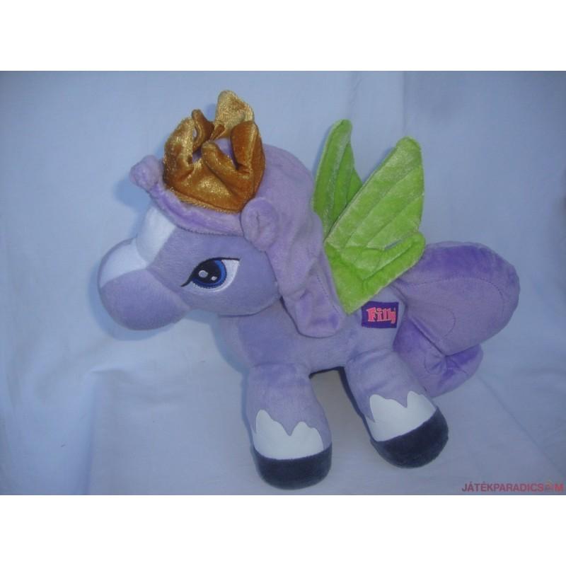 Filly plüss póni hercegnő, lila