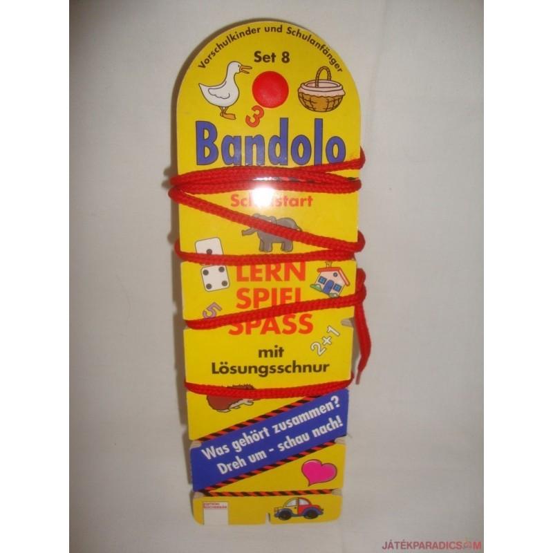 Bandolo készségfejlesztő fonalas párosító játék Set 8