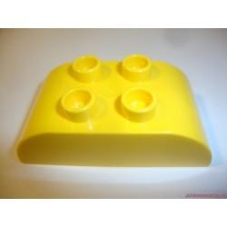 Lego Duplo sárga domború elem