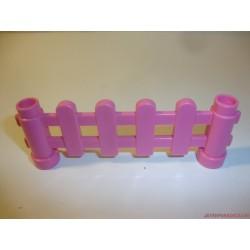 Lego Duplo rózsaszín kerítés