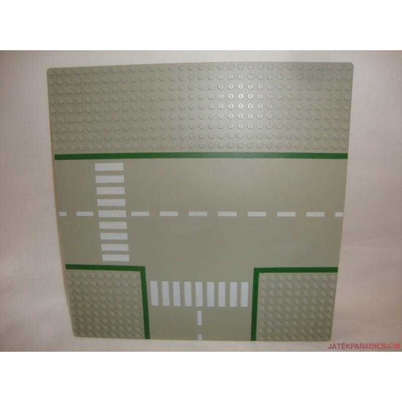 Lego útalap alaplap - útkereszteződés zebrával