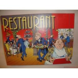 Restaurant Étterem társasjáték