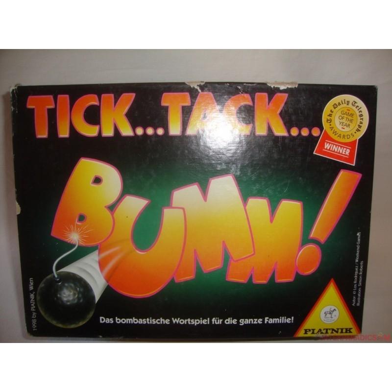 Akciós Tick Tack Bumm német nyelvű társasjáték