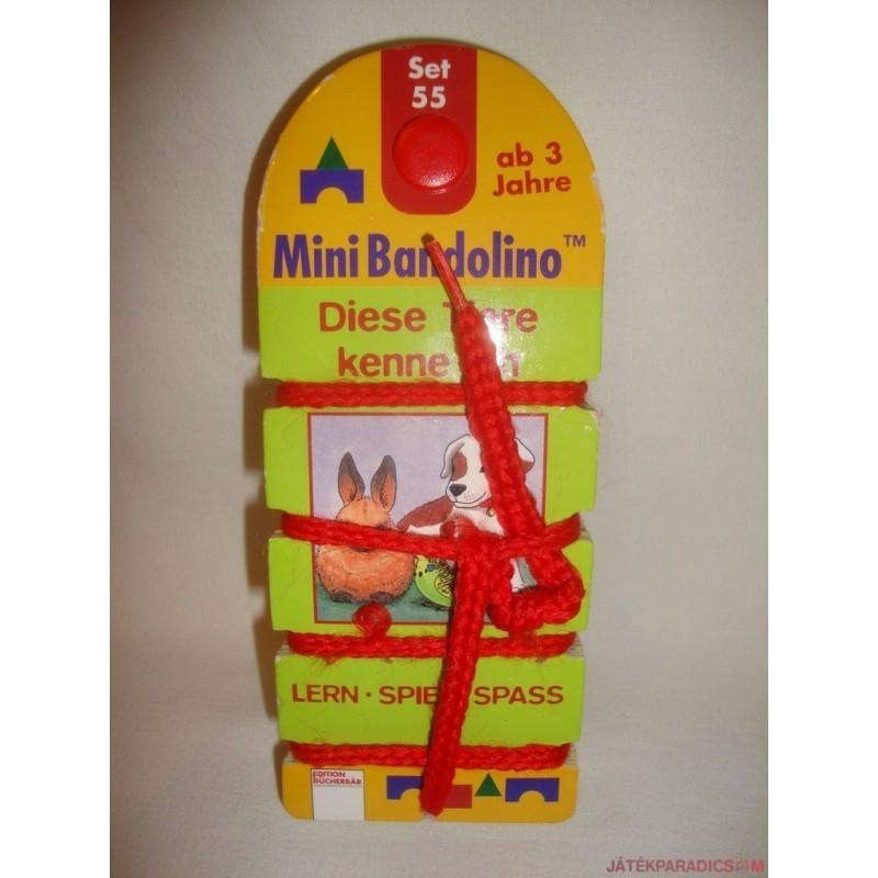 Mini Bandolinoo készségfejlesztő párosító játék Set 5