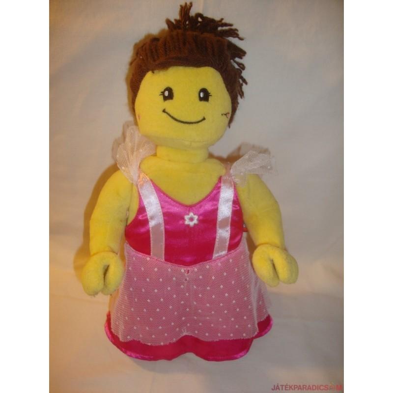 Lego lány plüss baba