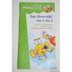 Mini Lük készségfejlesztő füzet, ABC