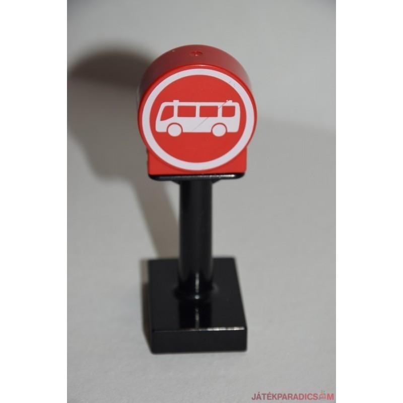Lego Duplo buszmegálló tábla