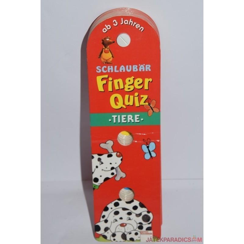 Finger Quiz ujjal játszható képes játék