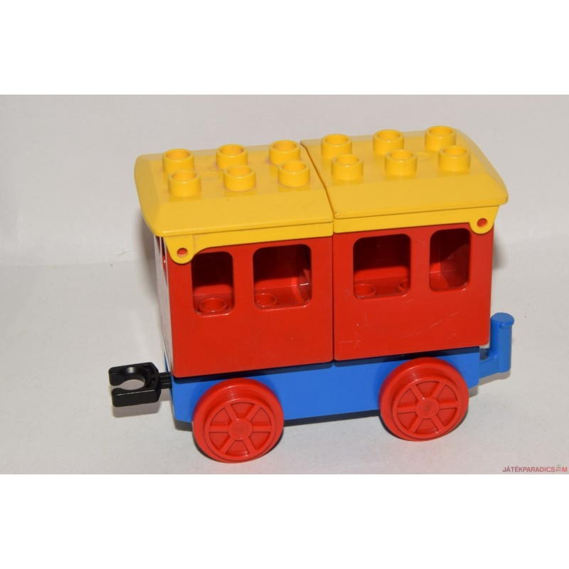 Lego duplo sárga vagon