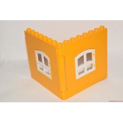 Lego Duplo fal elem ablakokkal