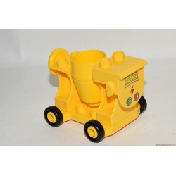 Lego Duplo sárga betonkeverő