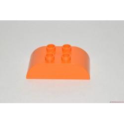 Lego Duplo narancssárga domború elem