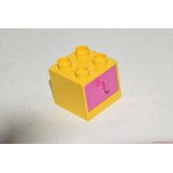 Lego Duplo almás fiókos polc