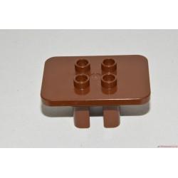 Lego Duplo barna asztal