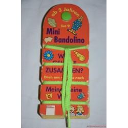 Mini Bandolino készségfejlesztő párosító játék Set 9