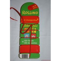 Rollino fonalas készségfejlesztő párosító játék