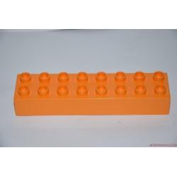 Lego Duplo 8-as hosszú narancssárga elem