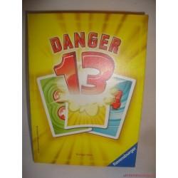 Ravensburger Danger 13 - A veszélyesen jó társasjáték, kártyajáték